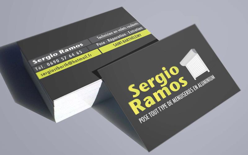 sergio ramos saint barthelemey carte de visite impression imprimeur sbh 97133 print