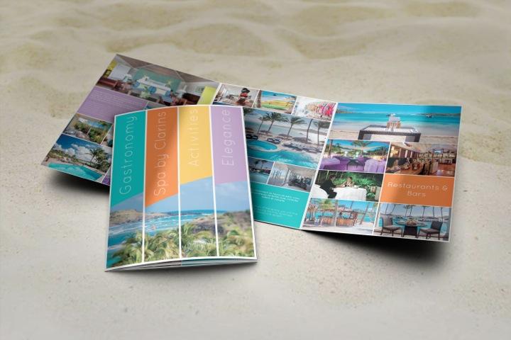 création graphique graphisme plaquette commerciale flyer photos agence de publicité saint barth sbh 97133
