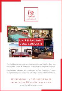 publicité hotel taiwana saint barthelemy 97133