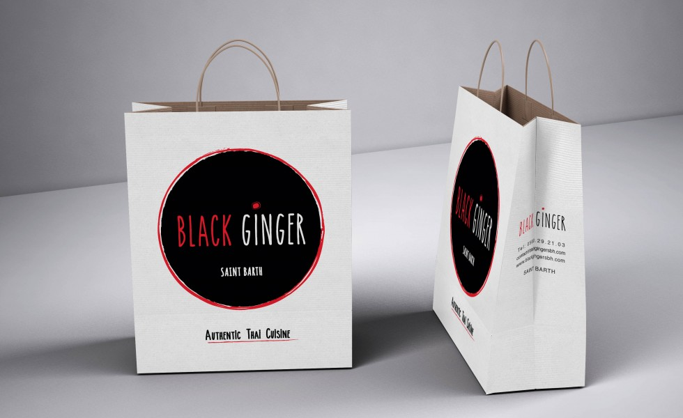 black-ginger-paper-bag
