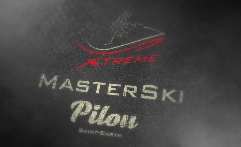 création logo master ski pilou xtreme st barth gustavia saint barthelemy 97133 location jet ski moniteur tour de l'île