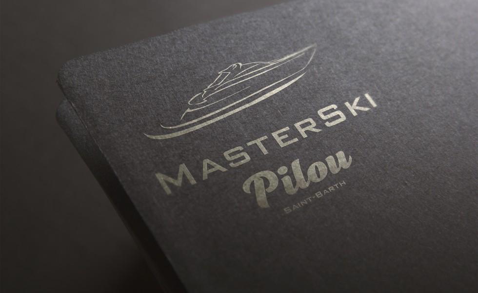création logo st barth saint barthelemy pilou master ski